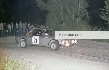 Rally Alto Appennino Bolognese 1978 - Paolieri