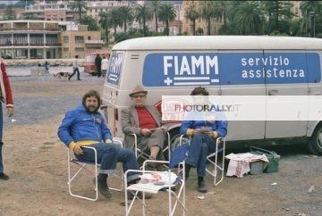 Sanremo 1978 - Andreini Dado (personaggi del Rally)
