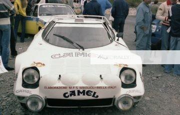 Sanremo 1978 - (Lancia Stratos di Adartico Vudafieri)