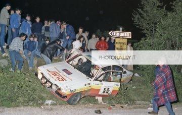 Rally del Carso 1981 - Savio