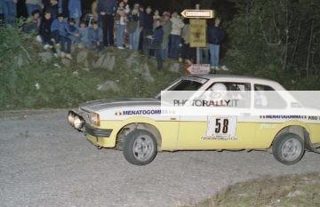 Rally del Carso 1981 - Mantovani