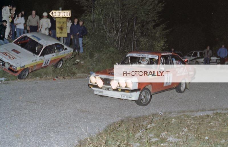 Rally del Carso 1981 - Mazzetto