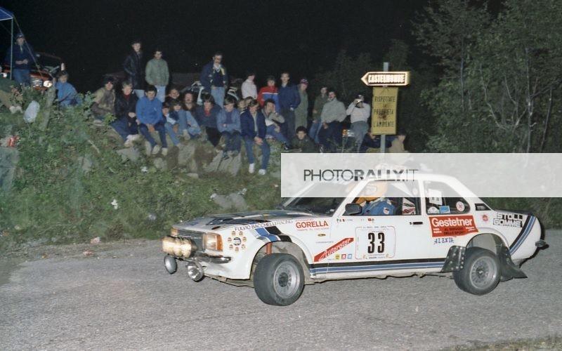 Rally del Carso 1981 - Sferch