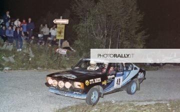 Rally del Carso 1981 - Basso