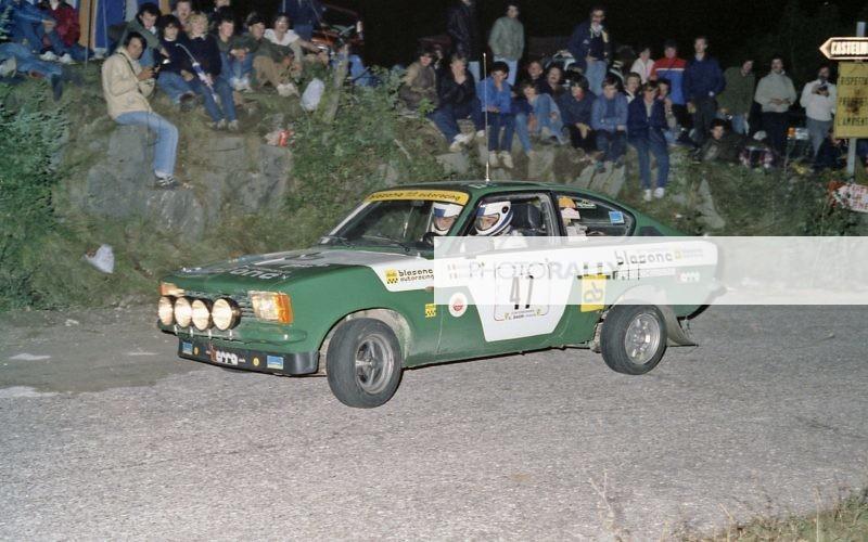 Rally del Carso 1981 - Berra