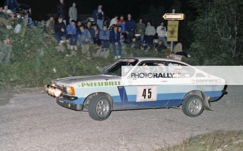 Rally del Carso 1981 - Baschirotto