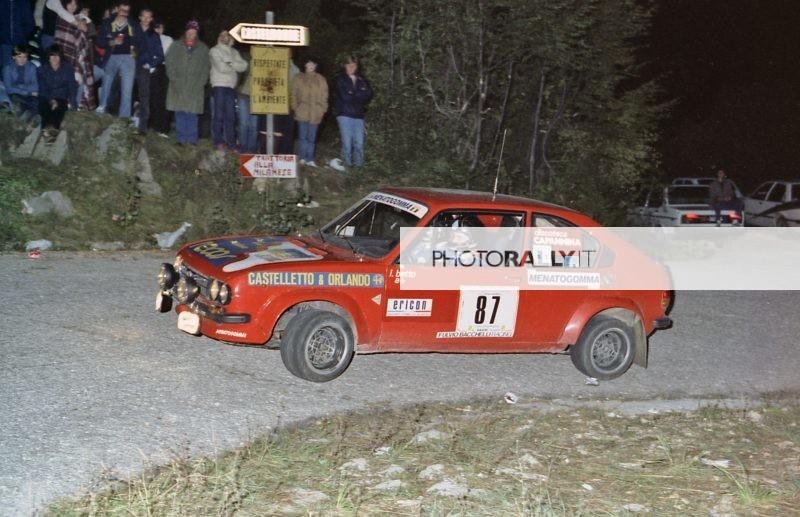 Rally del Carso 1981 - Betto