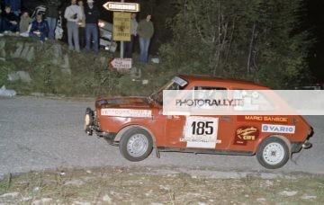 Rally del Carso 1981 - Weber