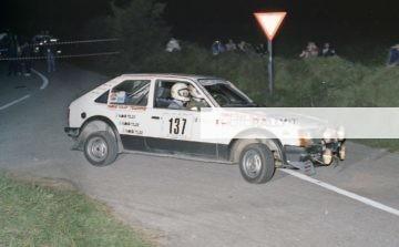 Rally del Carso 1981 - Ferrari