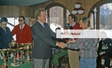 A.S. Raduno Alpine Renault Cortina D'ampezzo 1988 - Premiazione