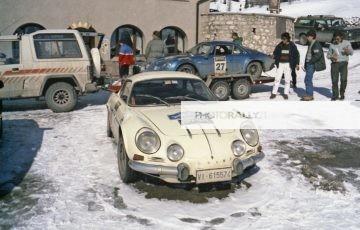 A.S. Raduno Alpine Renault Cortina D'ampezzo 1988