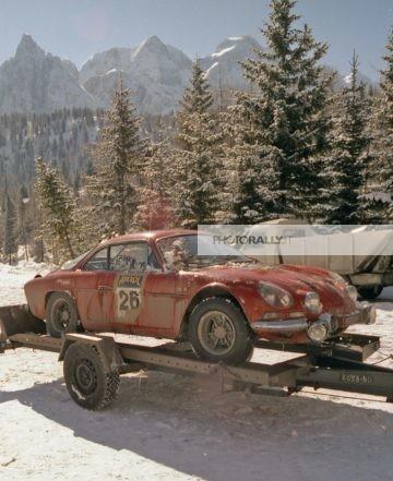 A.S. Raduno Alpine Renault Cortina D'ampezzo 1988 - Ciriello S.