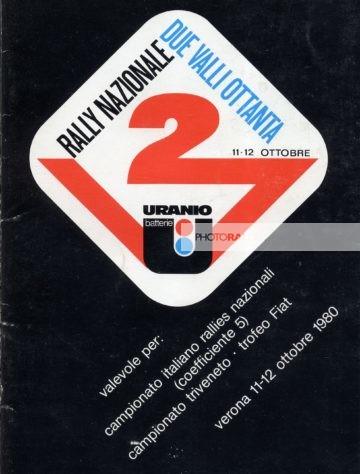 2 Valli 1980 - Elenco iscritti
