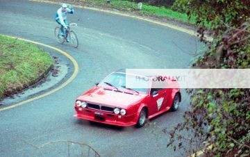 Raid Colli euganei 1988 Pilota: Groskovich Copilota: xxx Lancia Beta Montecarlo