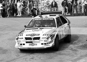 rally Tour de Corse 1986