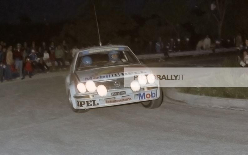 LUCKY BATTISTOLLI PILOTA RALLY COLLINE DI ROMAGNA 1981 - LUCKY FOTO INEDITE - IMMAGINI IN ESCLUSIVA - INFO@PHOTORALLY.IT - scopri di più