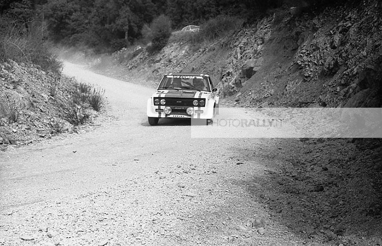 Ceccon FOTO rally Umbro 1979 - Fiat 131 Abarth - Tutte le foto inedite del rally Umbro 1979 - foto esclusive - info@photorally.it