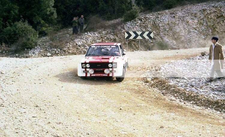 VILLA PILOTA RALLY - RALLY UMBRO 1979 - FIAT 131 ABARTH - FOTO RALLY - foto esclusive e inedite - per ricerche e preventivi info@photorally.it