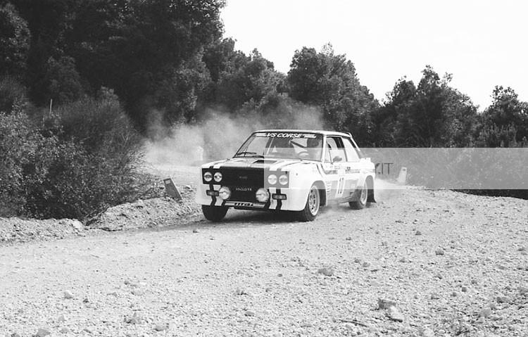 VILLA FOTO RALLY - RALLY UMBRO 1979 - FIAT 131 ABARTH - FOTO RALLY - foto esclusive e inedite - per ricerche e preventivi info@photorally.it