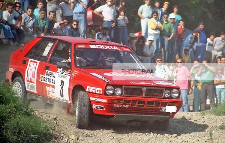 RALLY LANA 1988 - BOSSINI SU LANCIA DELTA DEL CLUB MILLE MIGLIA - FOTO IN ESCLUSIVA E INEDITE INFO@PHOTORALLY.IT SCOPRI DI PIU'