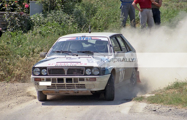 RALLY LANA 1988 - DEILA SU LANCIA DELTA DEL CLUB ASTRA - FOTO IN ESCLUSIVA E INEDITE INFO@PHOTORALLY.IT SCOPRI DI PIU' LANA 1988