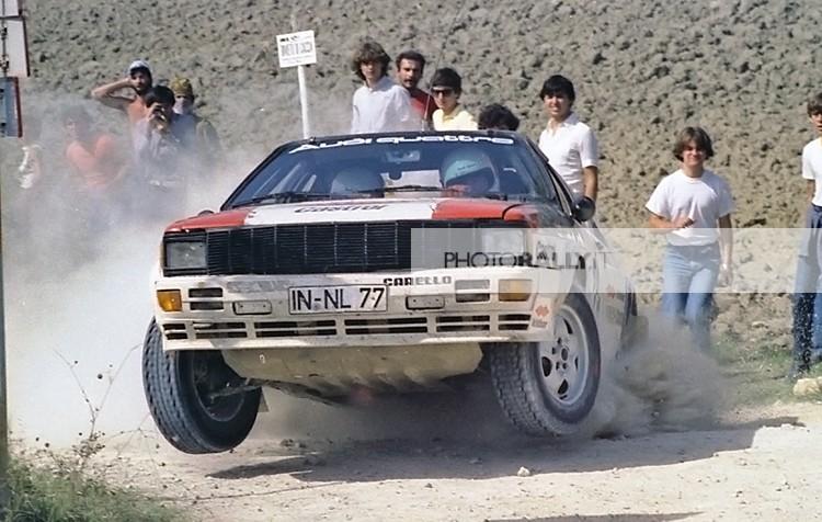 MICHELE CINOTTO - Rally di Sanremo 1981 foto inedite ed in esclusiva - Foto dei rally anni '70-'80-'90 a prezzi concorrenziali - info@photorally.it