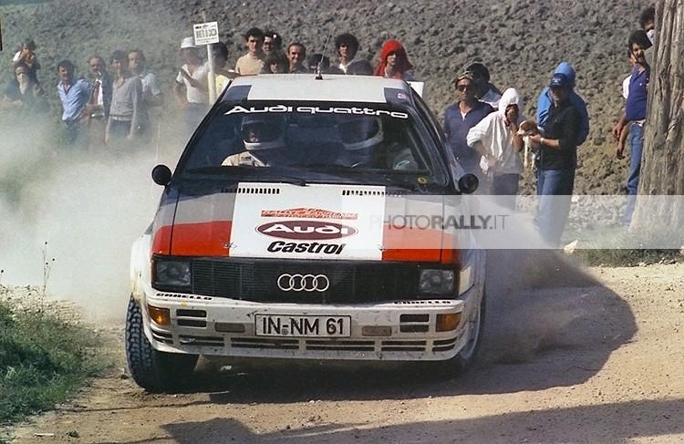 HANNU MIKKOLA - Rally di Sanremo 1981 foto inedite ed in esclusiva - Foto dei rally anni '70-'80-'90 a prezzi concorrenziali - info@photorally.it