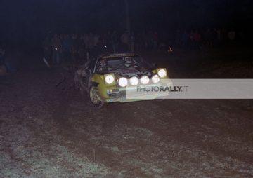 Rally Autodromo di Monza 1980 - DOMENICO GROSOLI pilota rally - foto inedite rally anni '80 - Archivio foto info@photorally.it