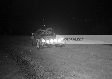 Rally 1000.0000 Trabucchi 1976 - Celesia pilota rally - Lancia Stratos - foto inedite rally anni '70 - Archivio info@photorally.it
