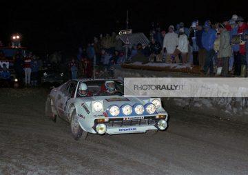 BUSSENI PILOTA RALLY VALLE D'AOSTA 1980 - FERRARI 308 GTB - FOTO INEDITE ED IN ESCLUSIVA - INFO@PHOTORALLY.IT